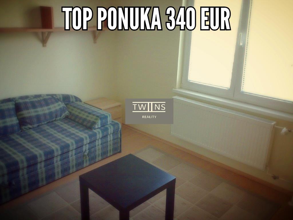 Prenajmeme Garzonku v Ruzinove 340 Eur