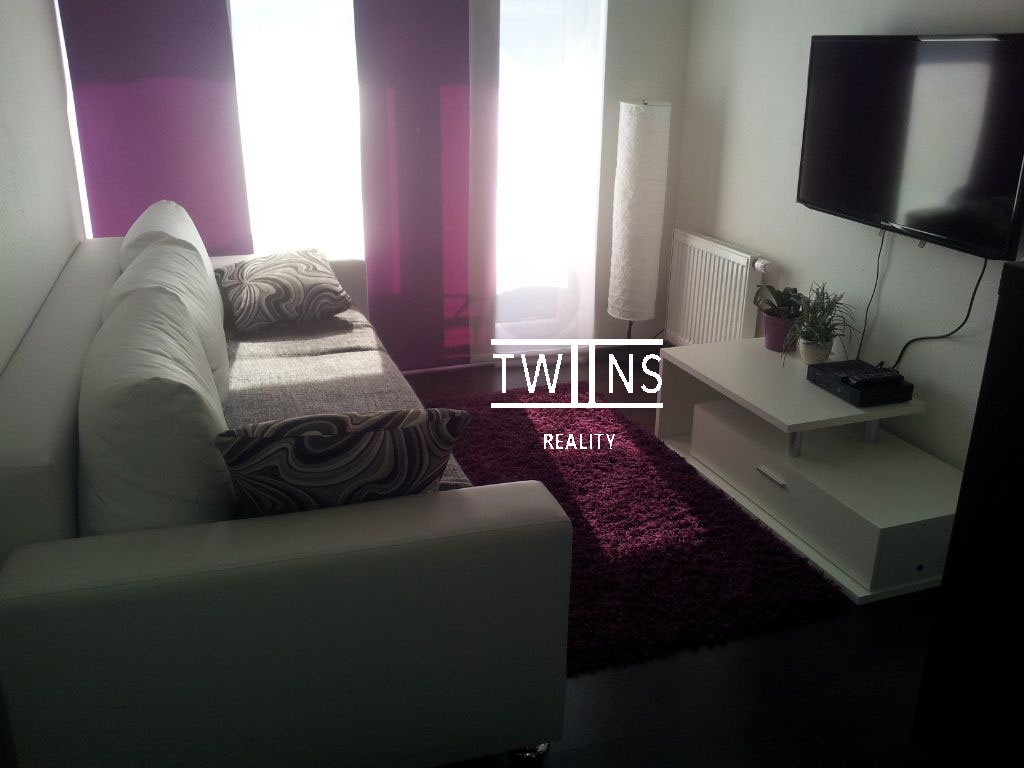 Prenajate -RK Prenajom 2 -izbový zariadený byt v novostavbe 550€