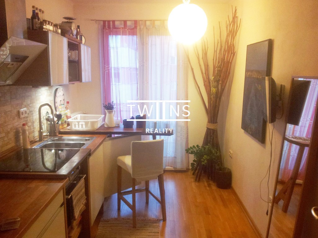 Prenajmem 1-izbový byt v tehlovom dome na Páričkovej ulici v Ružinove blízko centra mesta.