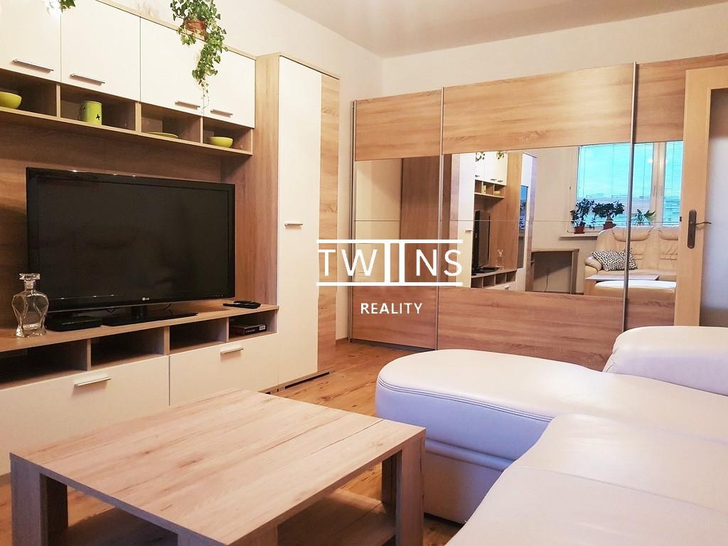 ✅Prenajmeme (Realitná kancelária)  zrekonštruovaný a zariadený 2-izbový byt na ul. Námestie hraničiarov, na začiatku Petržalky blízko centrum