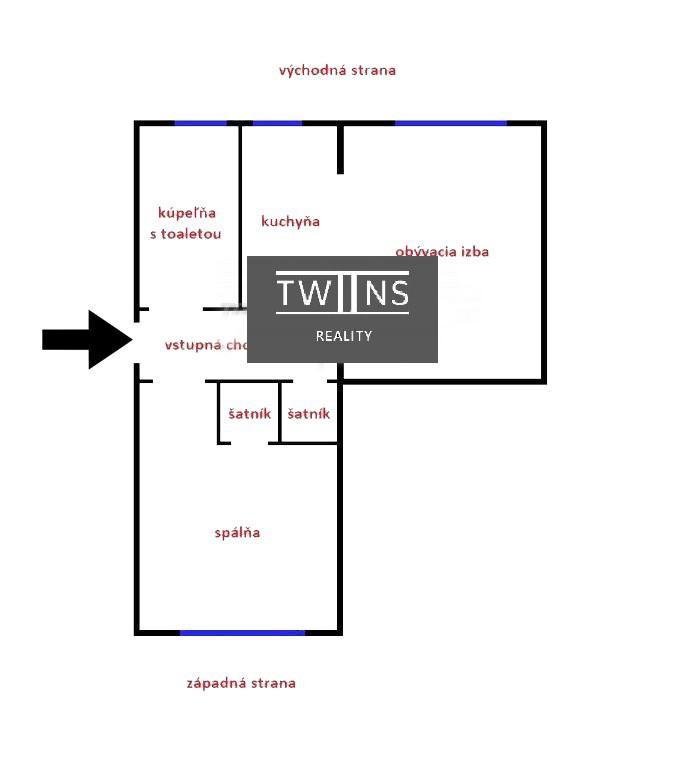 ✅Predáme 2 izb. byt v Ružinove  Super lokalita, ideálny pre mladú rodinu