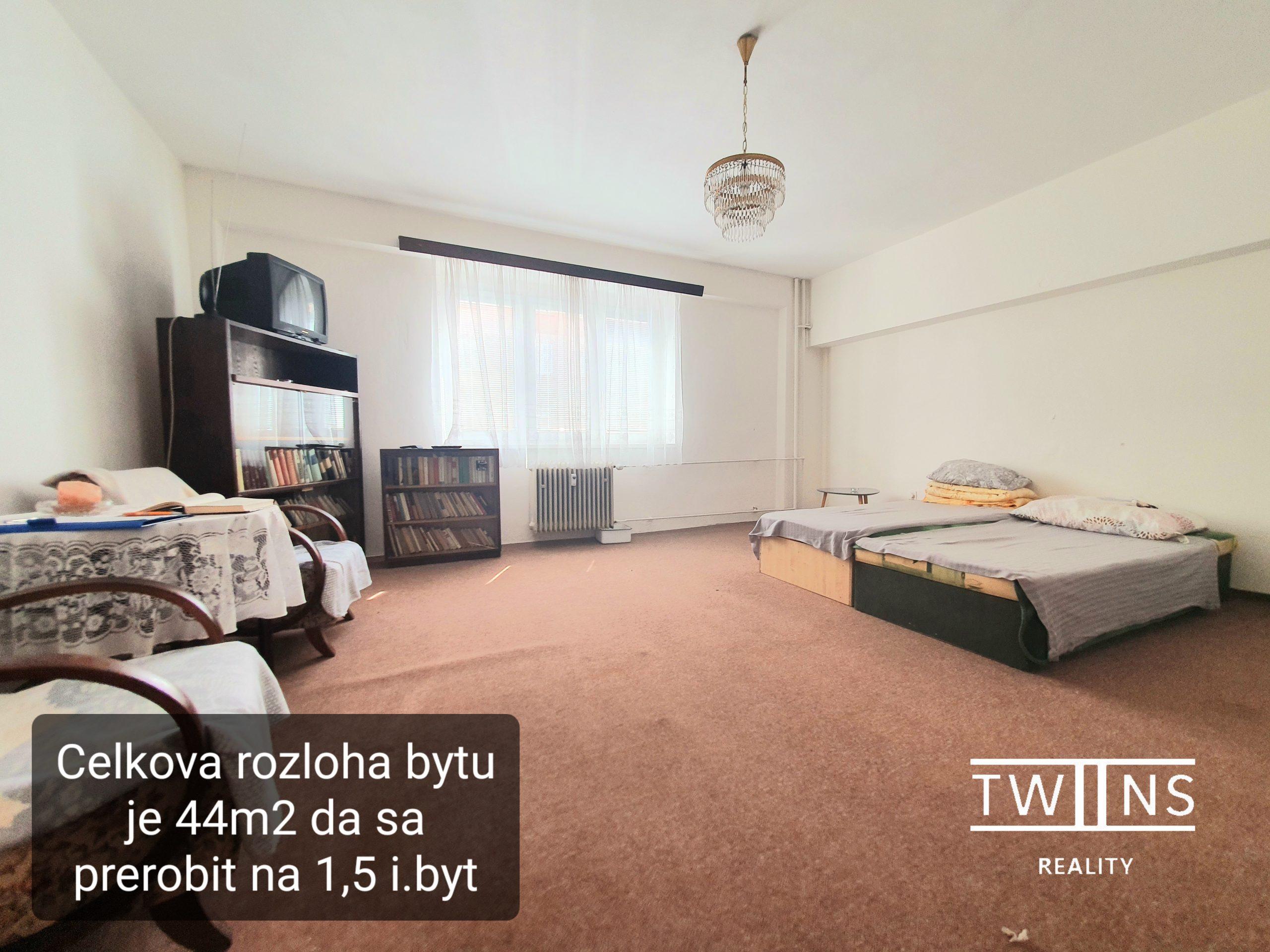 Predané!!🏠Predáme veľkometrážny 1 izbový Investičný byt na Šancovej (Pavlače) super cena ! : 118 000,-€
