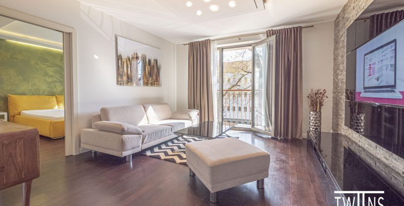 Prenajate!!!💎Prenajmeme Luxusný 2 izbový byt v blízkosti štvrti SKYPARK širšie centrum Bratislavy
